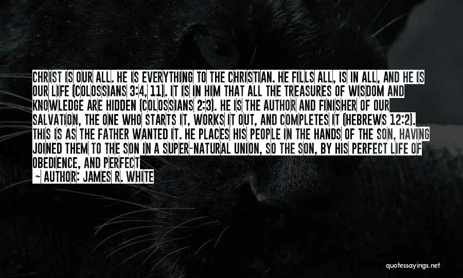 Quotes About Him Quotes By James R. White