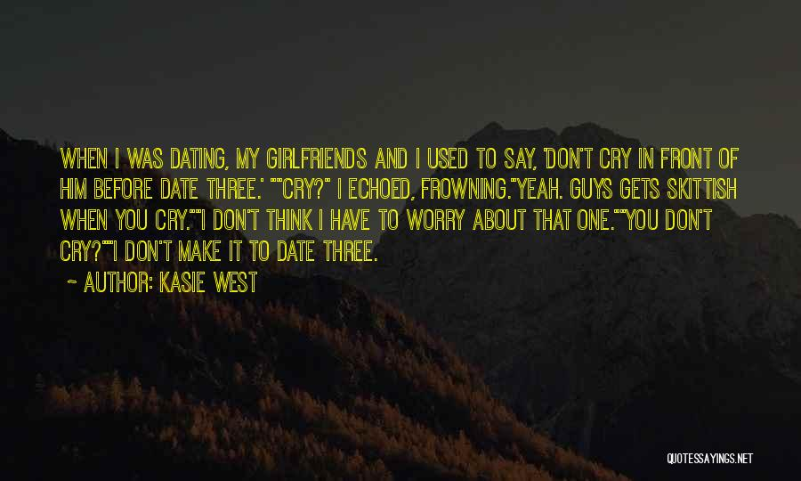 Quotes About Him Quotes By Kasie West