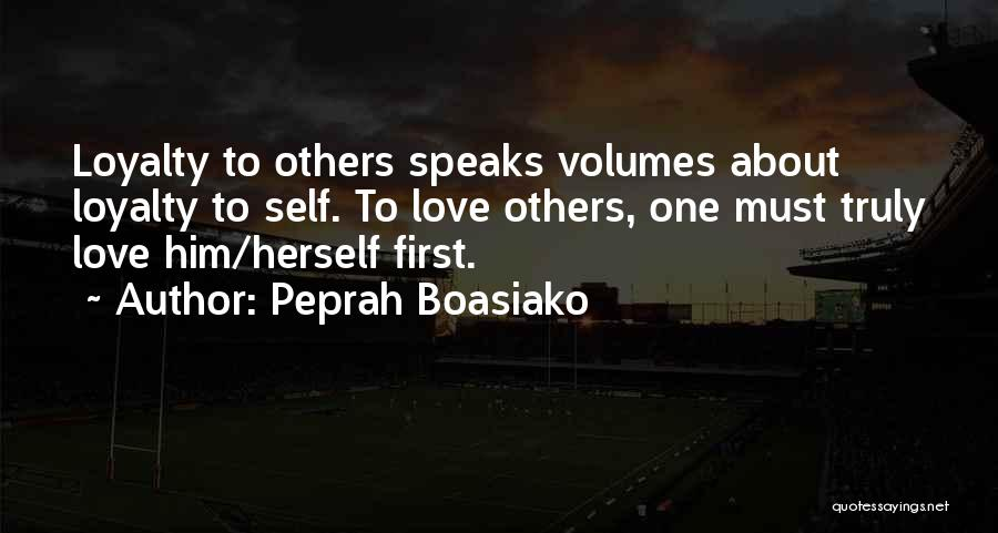 Quotes About Him Quotes By Peprah Boasiako
