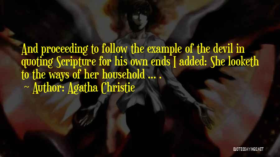 Quoting Yourself Quotes By Agatha Christie
