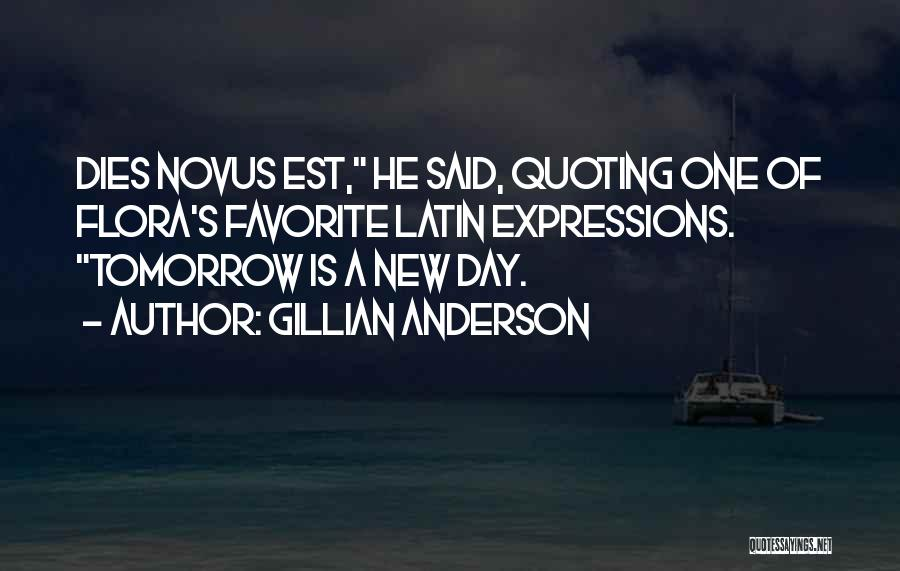 Quoting Yourself Quotes By Gillian Anderson