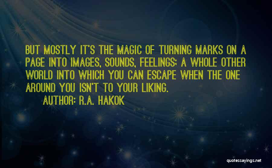 R.A. Hakok Quotes 329904
