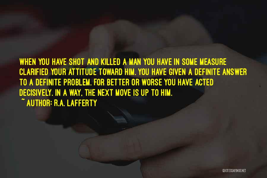 R.A. Lafferty Quotes 396786