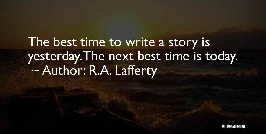 R.A. Lafferty Quotes 839973