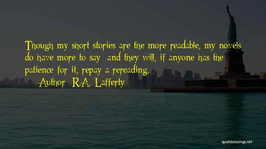 R.A. Lafferty Quotes 848760