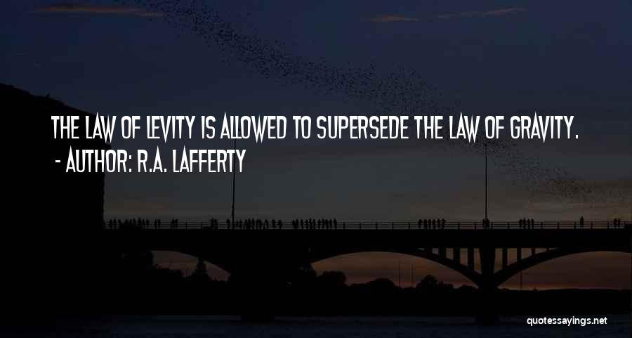 R.A. Lafferty Quotes 981895