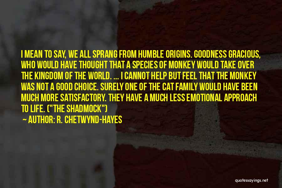 R. Chetwynd-Hayes Quotes 1960103