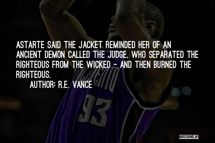 R.E. Vance Quotes 120943