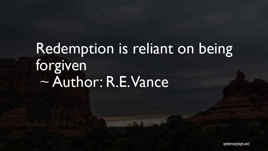 R.E. Vance Quotes 2026169