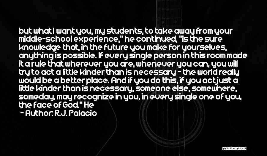 R.J. Palacio Quotes 1062646
