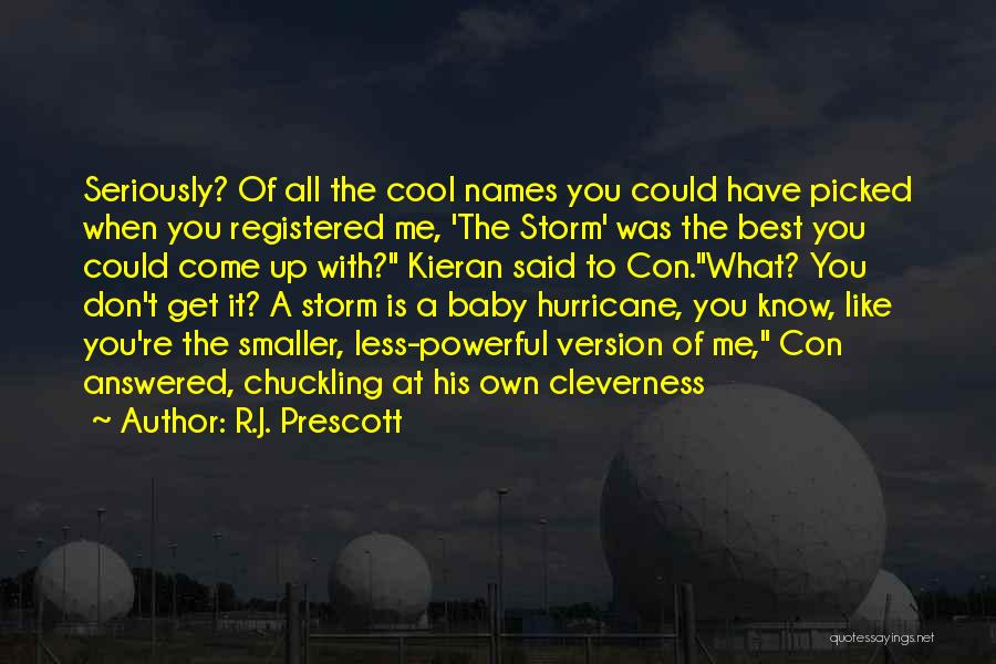 R.J. Prescott Quotes 1046286