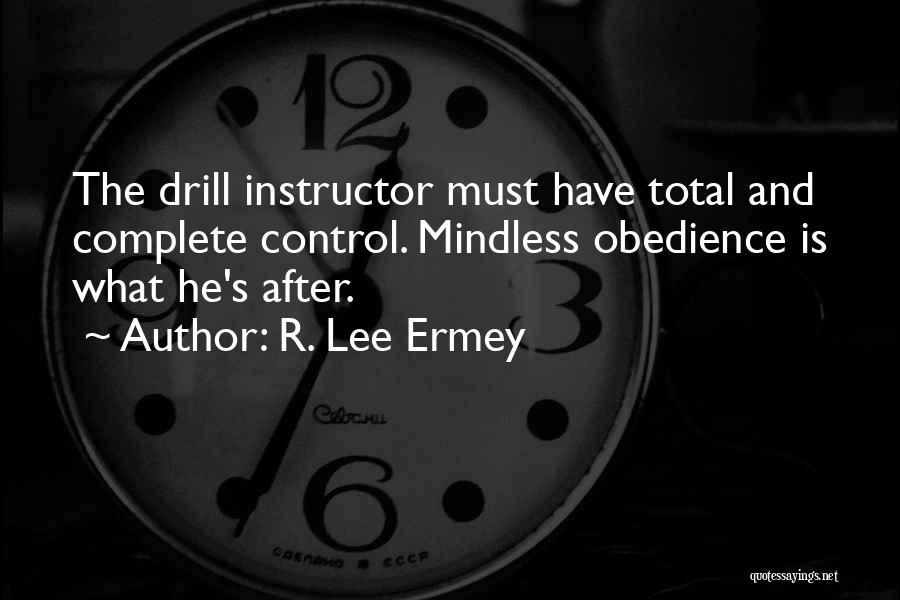 R. Lee Ermey Quotes 85673