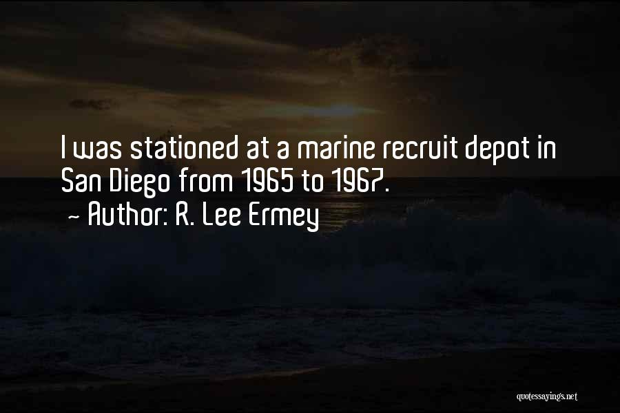 R. Lee Ermey Quotes 894699