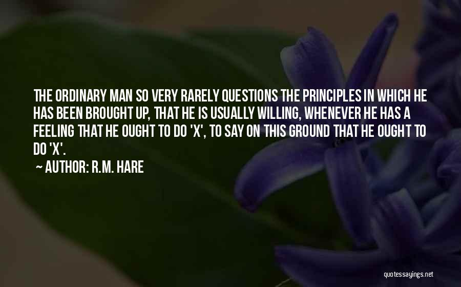 R.M. Hare Quotes 174337