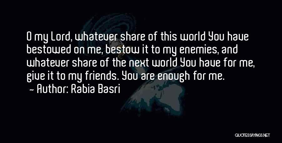 Rabia Basri Quotes 191203