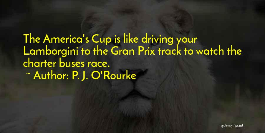 Race To Nowhere Quotes By P. J. O'Rourke