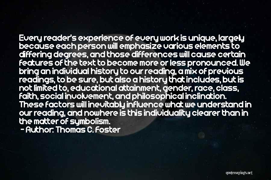 Race To Nowhere Quotes By Thomas C. Foster