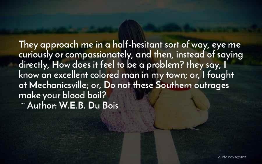 Race To Nowhere Quotes By W.E.B. Du Bois