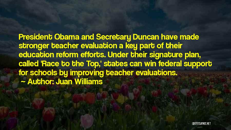 Race To Win Quotes By Juan Williams