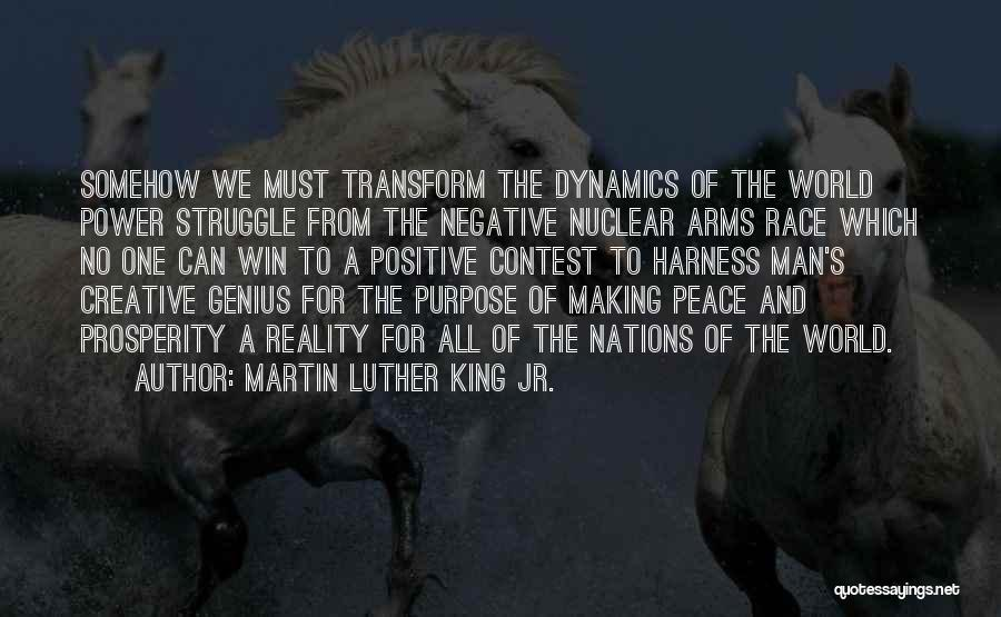 Race To Win Quotes By Martin Luther King Jr.