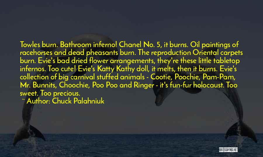 Racehorses Quotes By Chuck Palahniuk