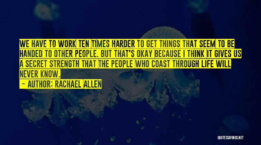 Rachael Allen Quotes 1861099