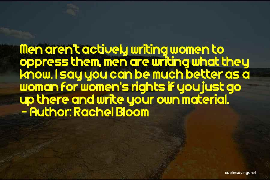 Rachel Bloom Quotes 2049707
