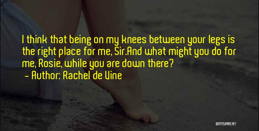 Rachel De Vine Quotes 491410