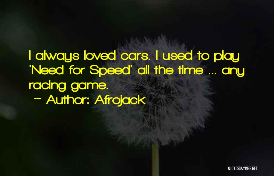 Racing Quotes By Afrojack