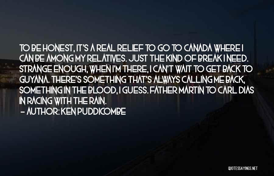 Racing Quotes By Ken Puddicombe