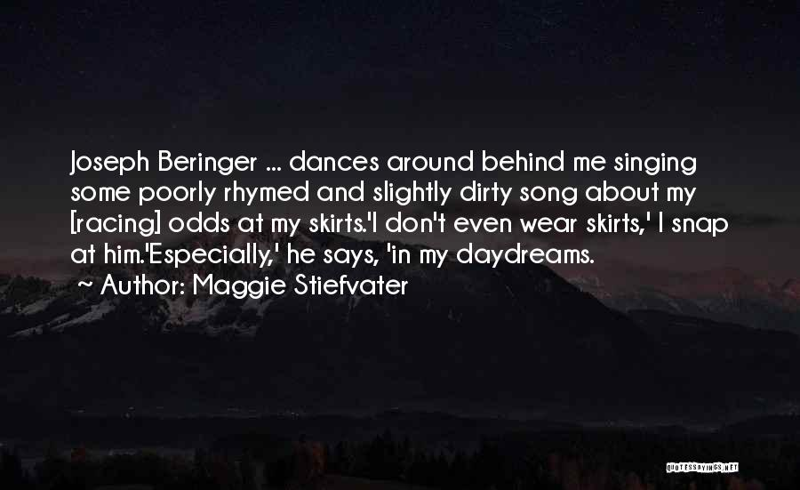 Racing Quotes By Maggie Stiefvater