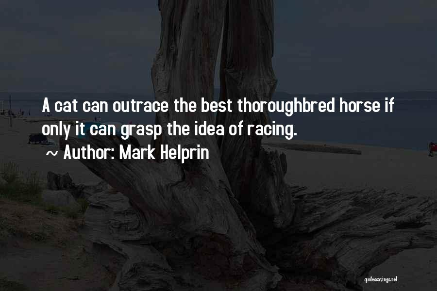 Racing Quotes By Mark Helprin