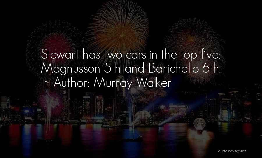 Racing Quotes By Murray Walker