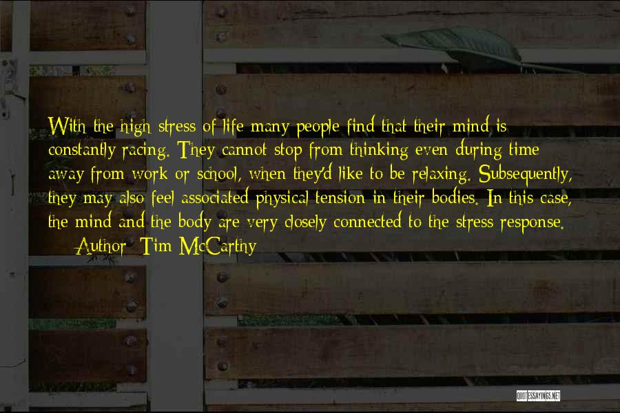 Racing Quotes By Tim McCarthy