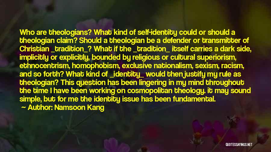 Racism And Christianity Quotes By Namsoon Kang