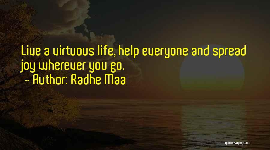 Radhe Maa Quotes 113426