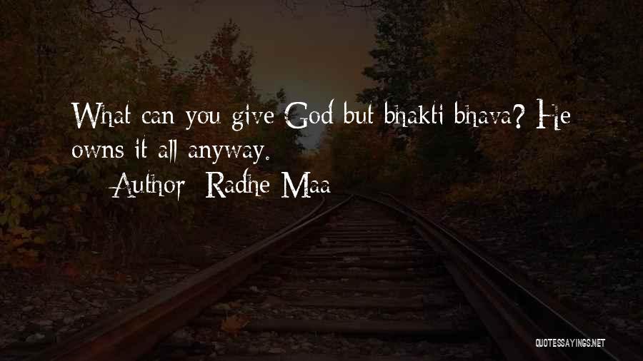 Radhe Maa Quotes 1331135