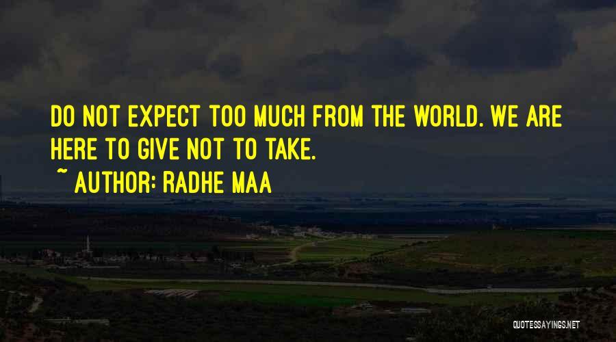 Radhe Maa Quotes 1601352