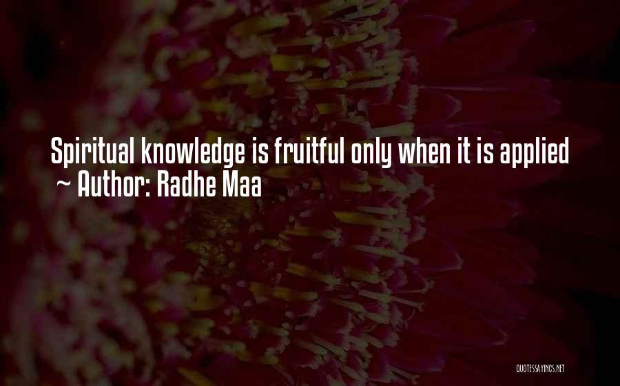 Radhe Maa Quotes 1729785