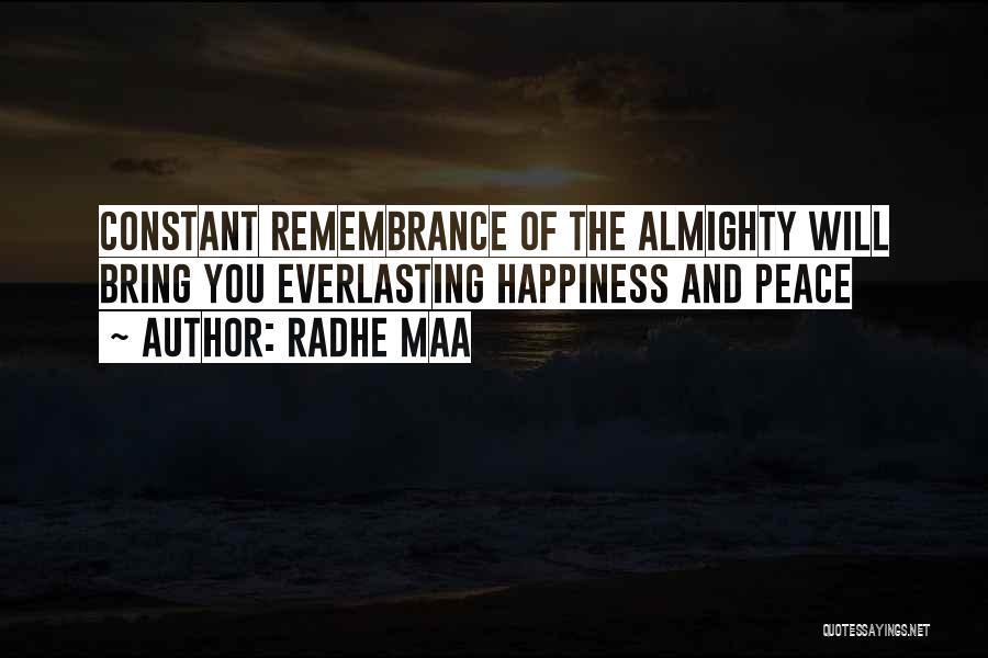Radhe Maa Quotes 1912153
