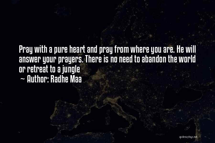 Radhe Maa Quotes 2268191