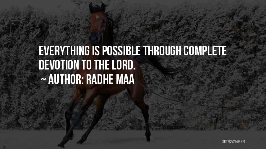 Radhe Maa Quotes 550185