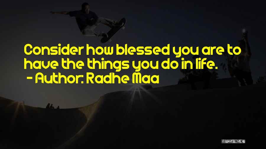 Radhe Maa Quotes 552006