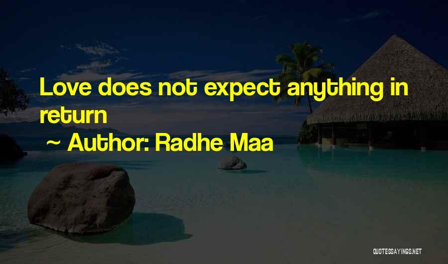 Radhe Maa Quotes 886770