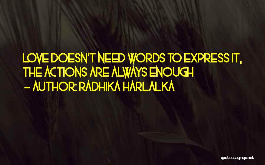 Radhika Harlalka Quotes 1029823