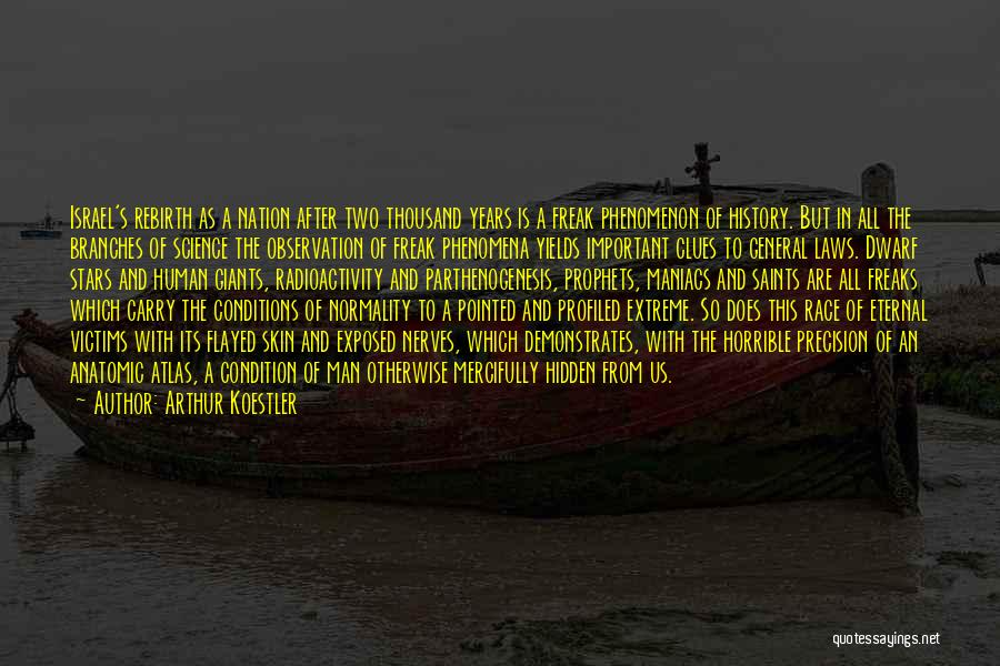 Radioactivity Quotes By Arthur Koestler
