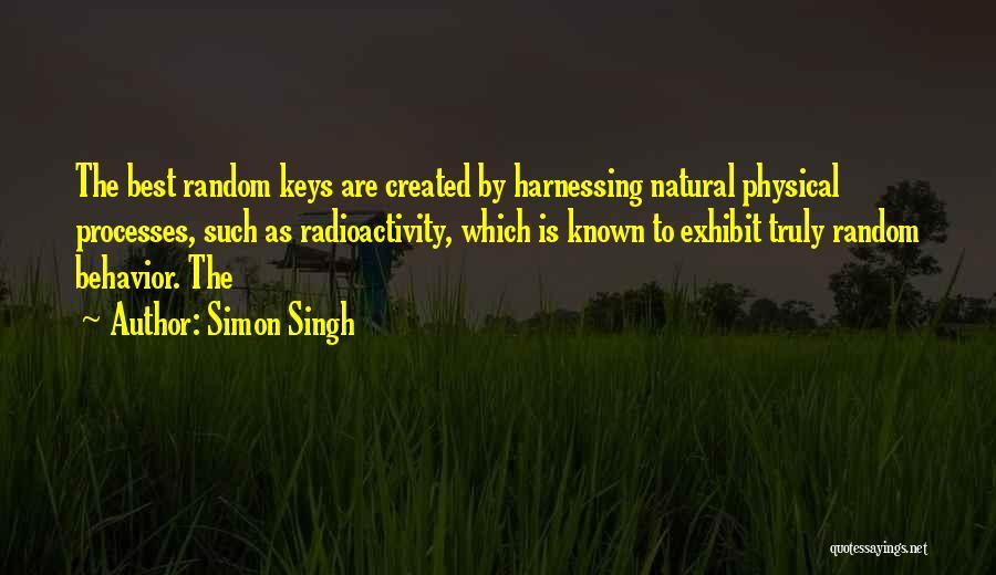 Radioactivity Quotes By Simon Singh