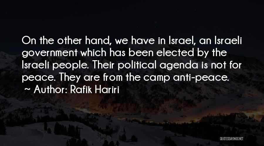 Rafik Hariri Quotes 179241