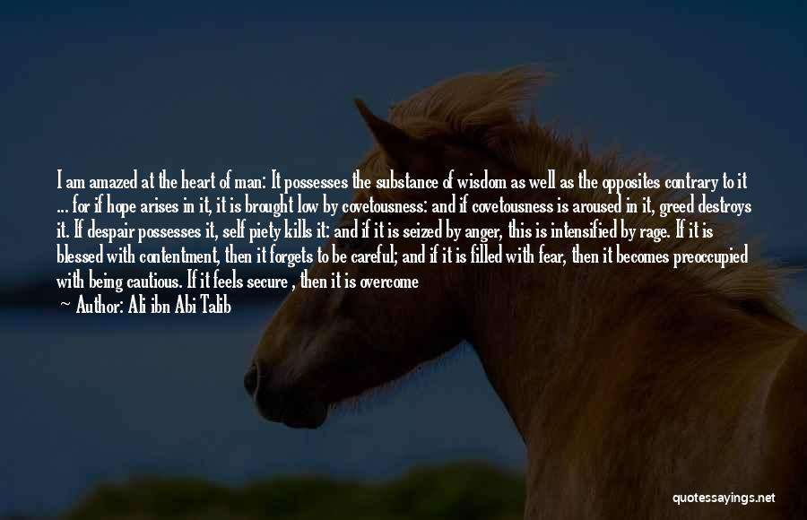 Rage Filled Quotes By Ali Ibn Abi Talib