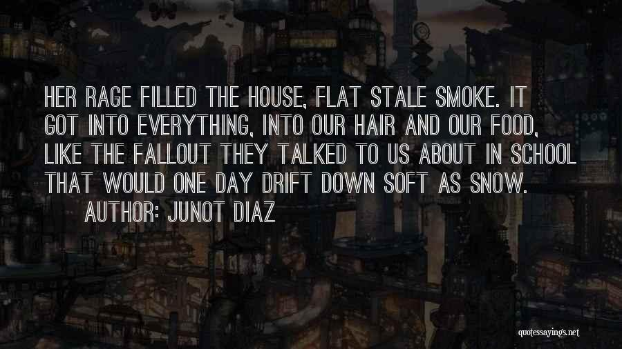 Rage Filled Quotes By Junot Diaz